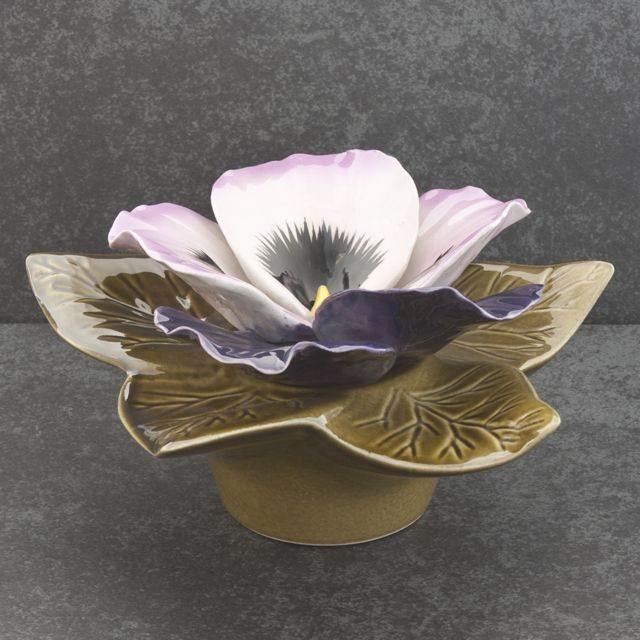 majolica-bloem-paarse-viool